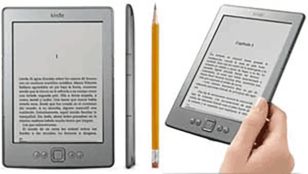 Kindle: especialmente para la lectura