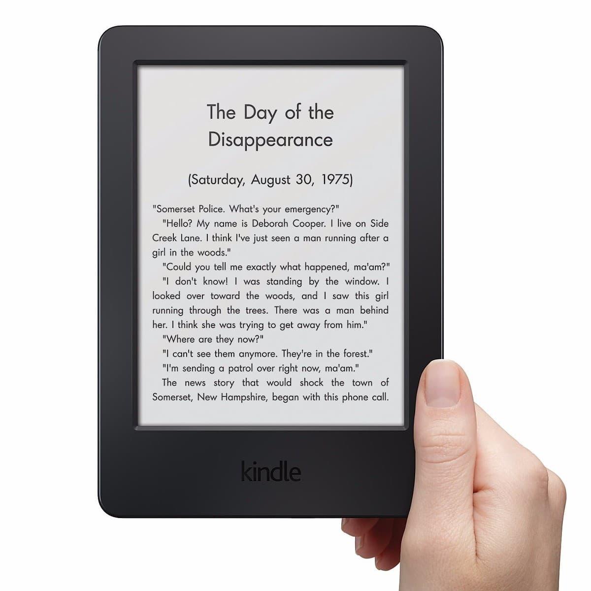 Kindle: especialmente para la lectura