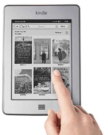 Kindle Touch y Kindle Touch 3G